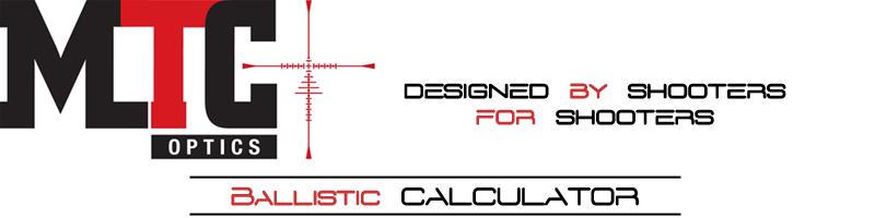 MTC Optics - Range Tape Calculator