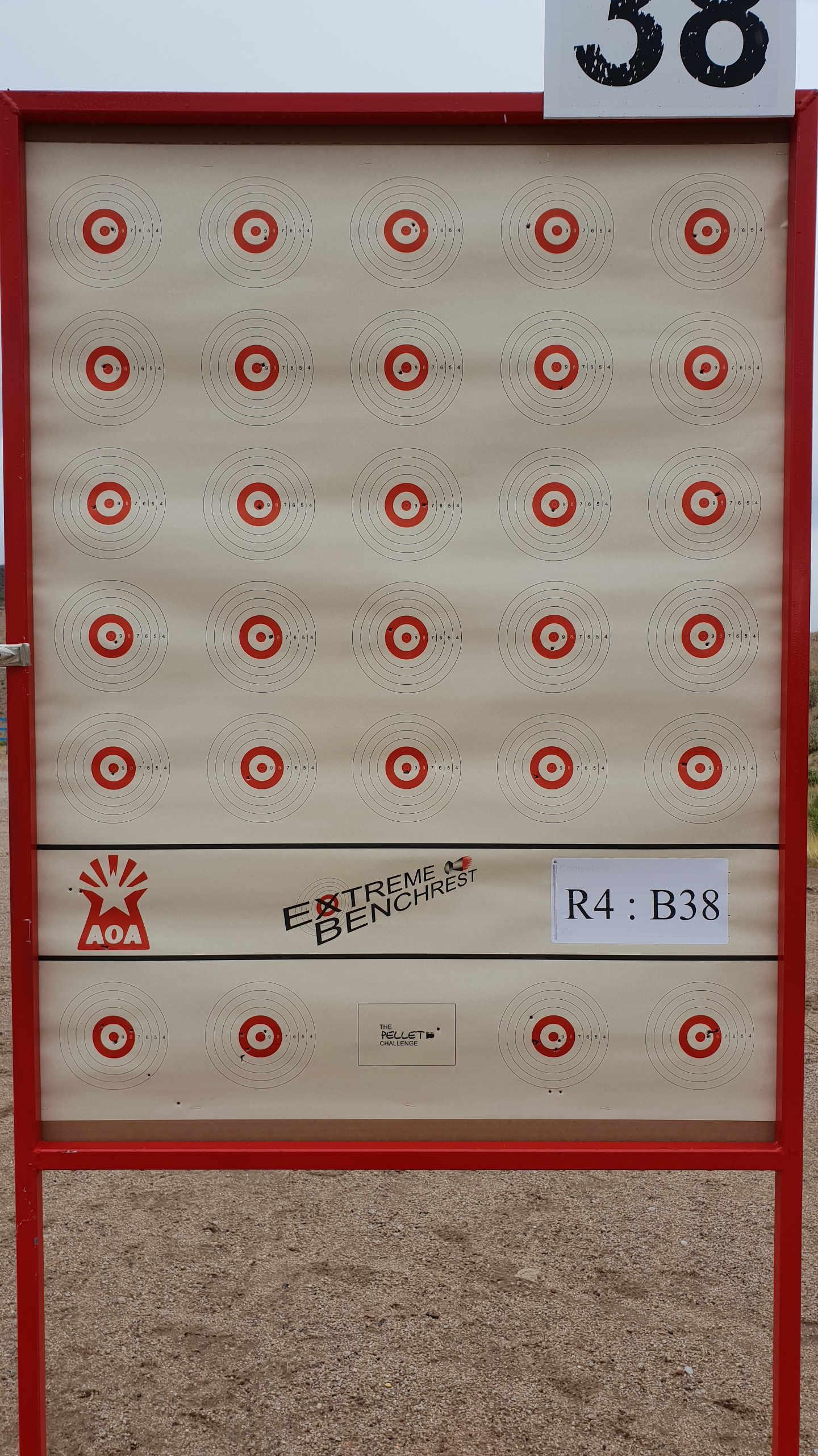 Extreme Benchrest 2018 - Target